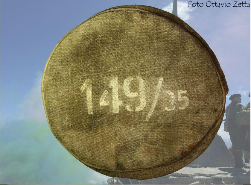 Copri volata per cannone calibro 149/35